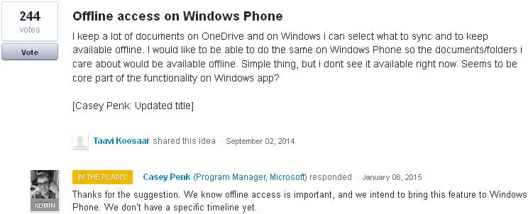 Offline-OneDrive