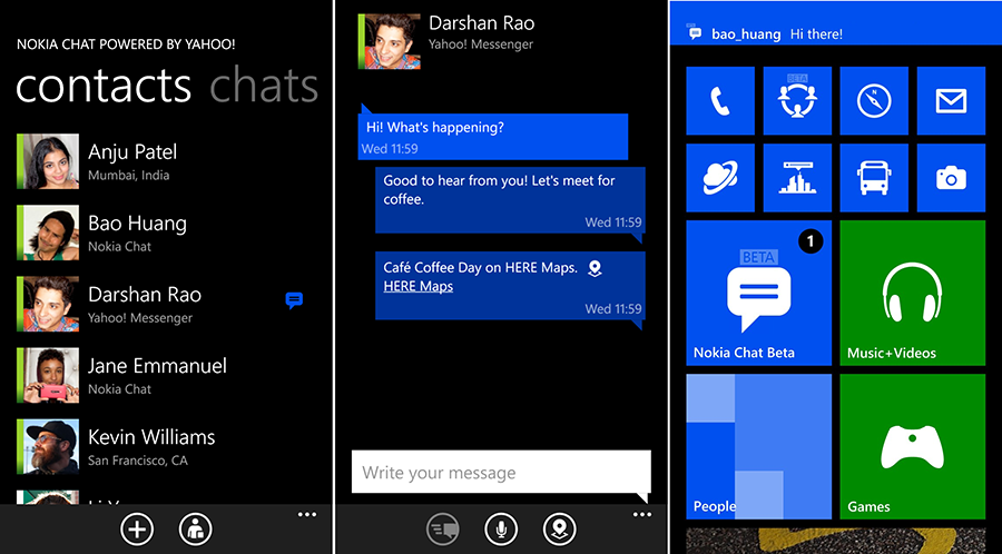 windows phone support live chat