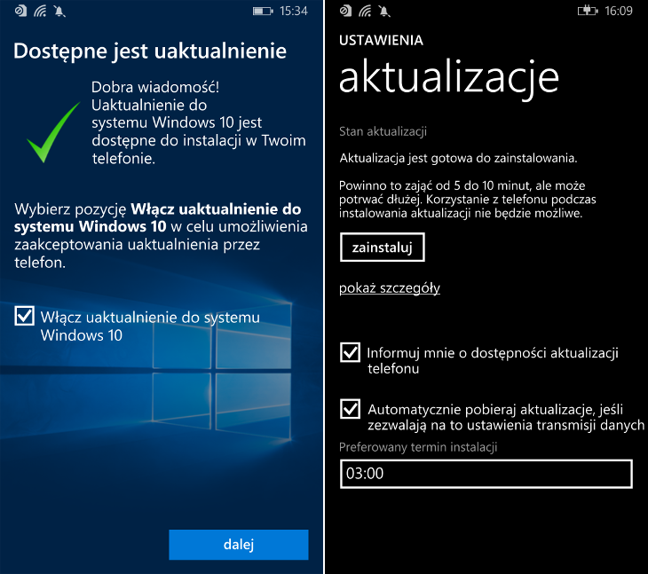 Aktualizacja-Windows-10-Mobile