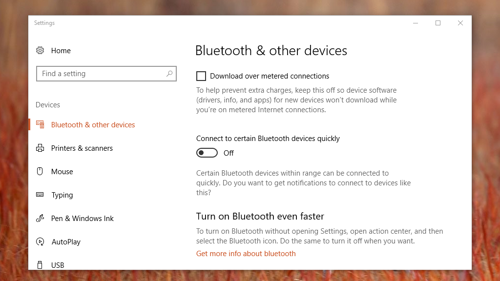 Bluetooth Quick Pair